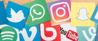 Иконки соцсетей