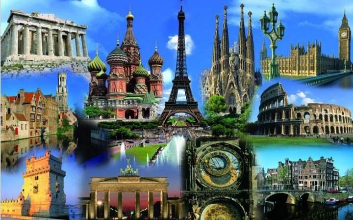 Москва Париж и другое