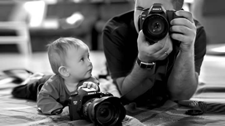 3-х летний малыш с папой