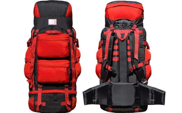 рюкзак сшит из ткани с силиконовым или же с полиуретановым покрытием