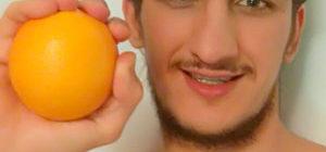 на апельсиновом соке неделю