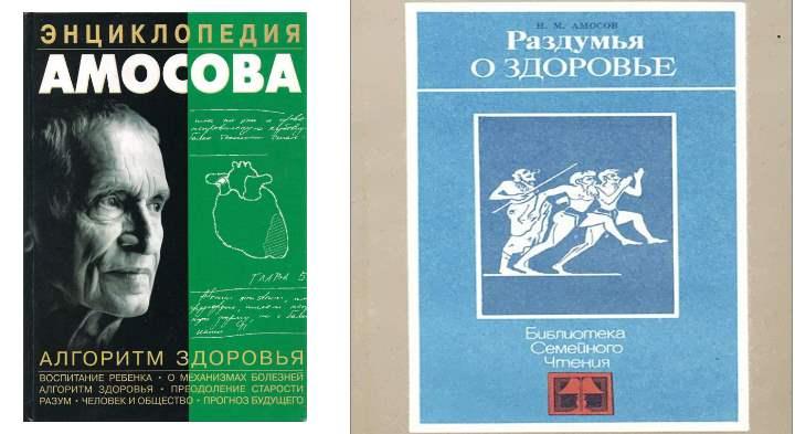 Книги Амосова