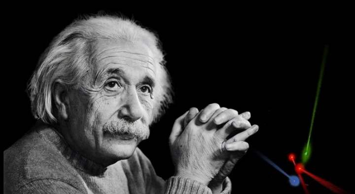 Фото Эйнштейна