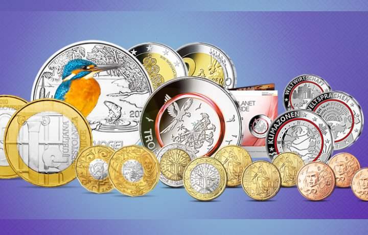 Евро мелочью