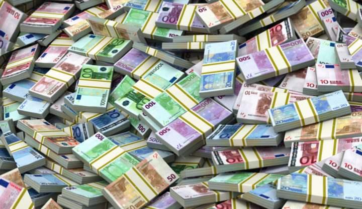 Куча европейских денег