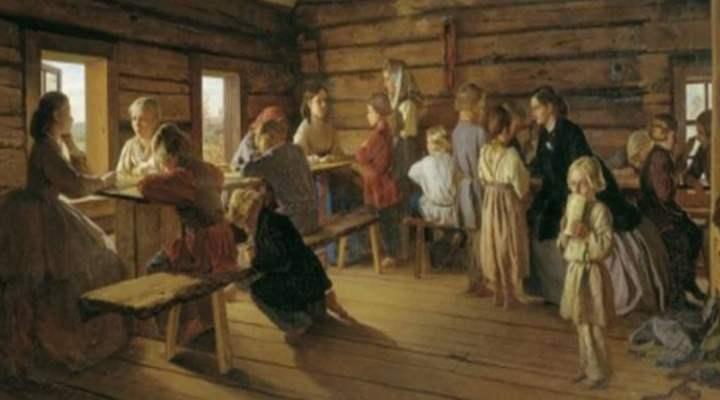 Древняя русская изба