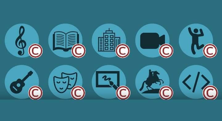 разделы для авторских прав