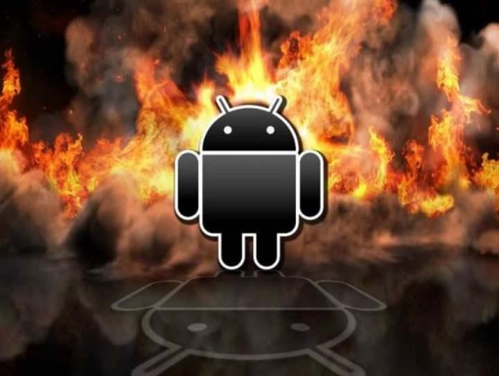 Андроид греет смарт