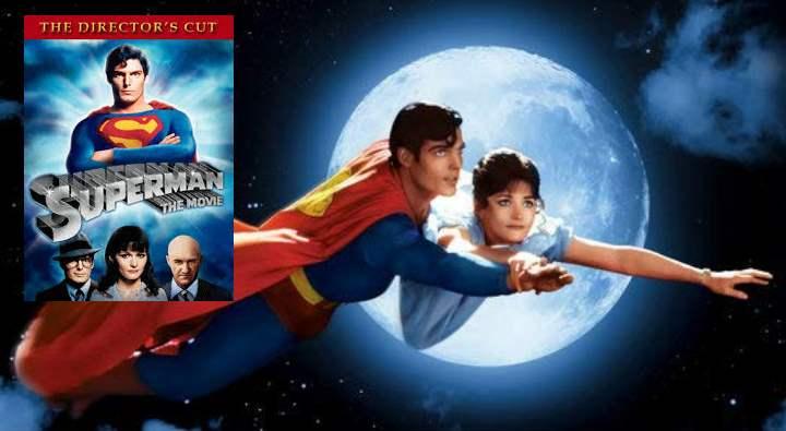 Кадр из фильма про супермена