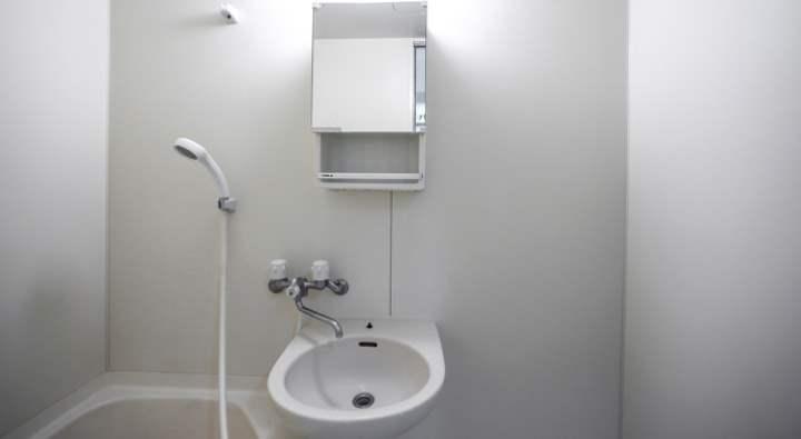 Ванная стиля минимализм
