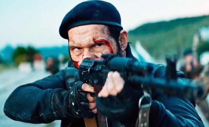 Фильм Балканский рубеж показывает нам события войны конца девяностых годов в Югославии
