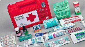 Набор лекарств для дома