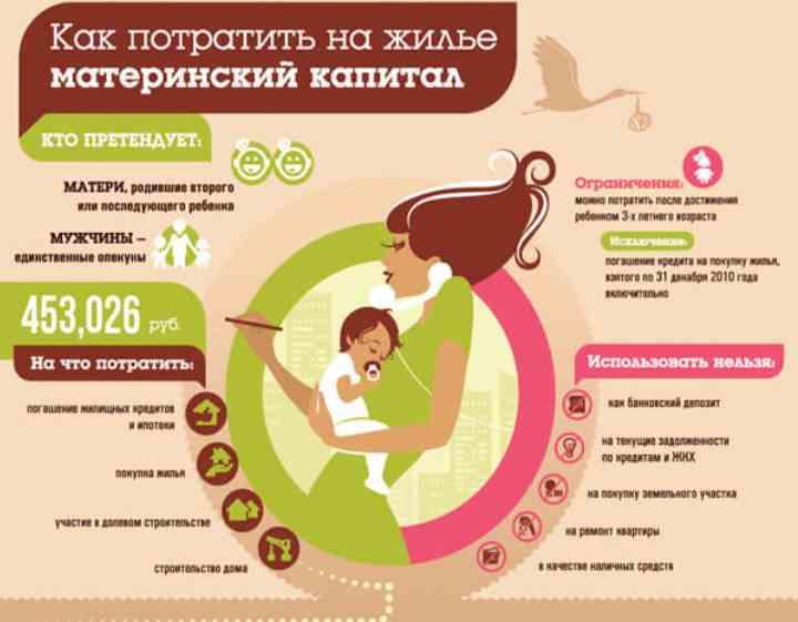 Инфографика о маткапитале