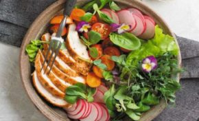 Тарелка здоровой еды