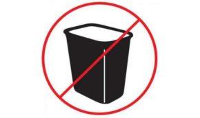Что можно туда выбрасывать, а что стоит утилизировать особенным образом.