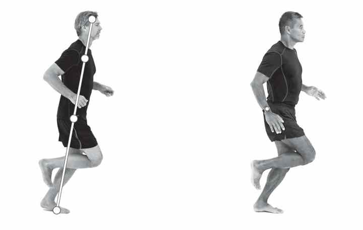 Как правильно ставить ноги во время бега?