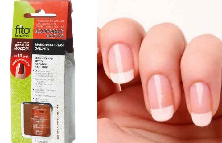Средство для укрепления ногтей от компании фитокосметик изготовлено из натуральных препаратов