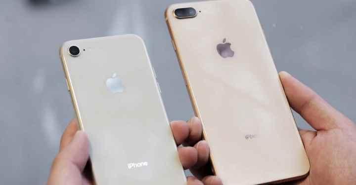 Внешне iPhone 8 похож на предыдущую седьмую модель