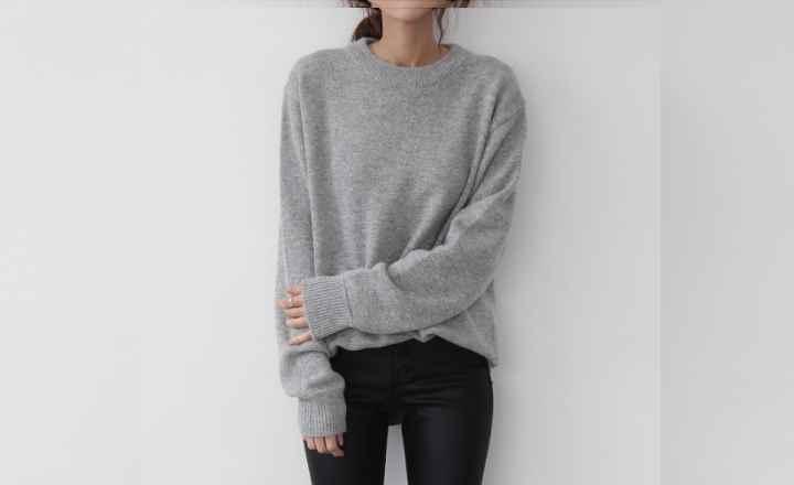 теплый и мягкий кашемировый свитер