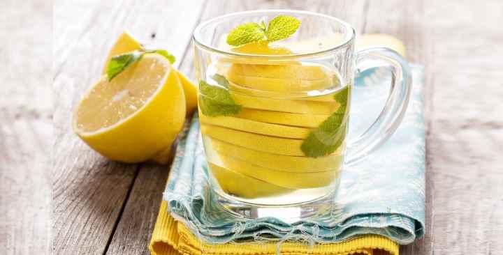 В лимоне содержится большое количество калия