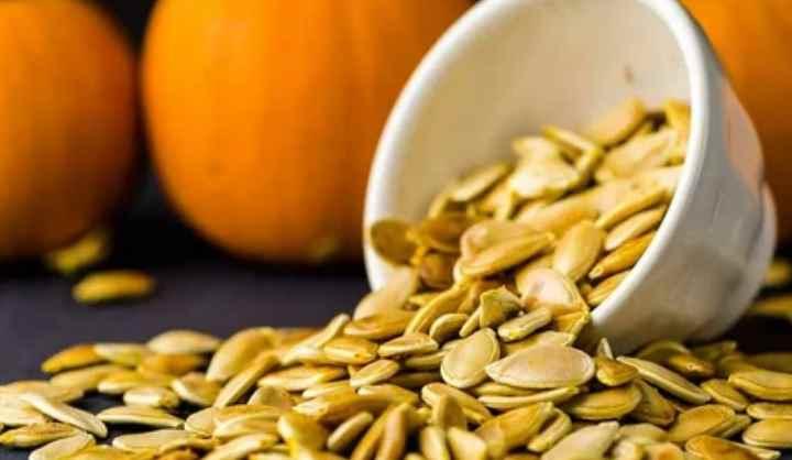 В семенах тыквы содержится большое количество полиненасыщенных жирных кислот