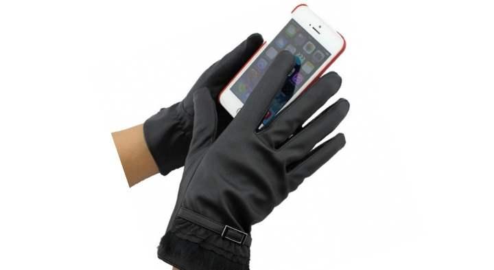 Выполнены перчатки из кашемира