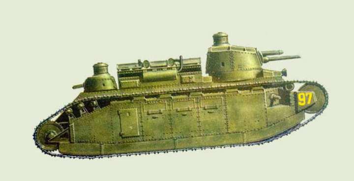 танк создан французской судостроительной компанией FCM