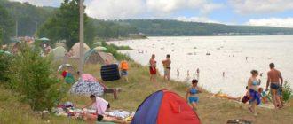 Где можно остановиться на озере Кандрыкуль