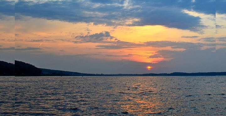 Озеро людям известно уже давно