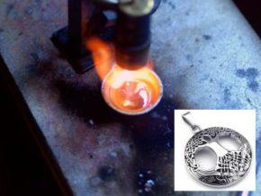 Как отлить из серебра изделие в домашних условиях?