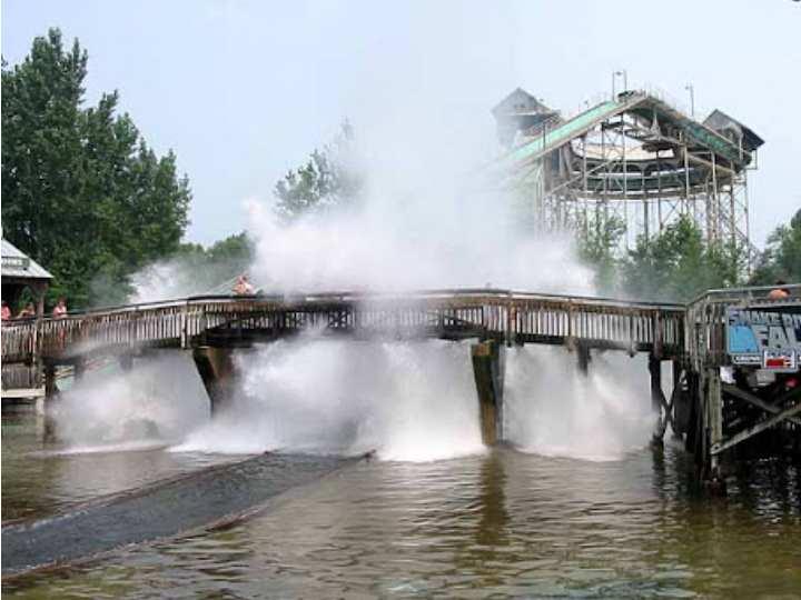 Это один из самых старых водных аттракционов в мире