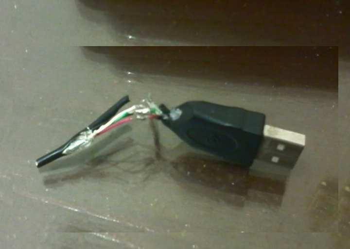 ситуация, что шнур от мыши или клавиатуры оторвался от платы