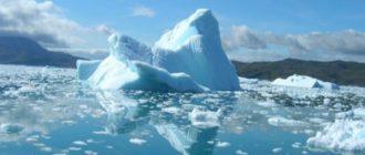 Последствиями процессов таяния ледников станут значительные изменения ландшафта